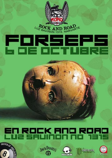 Forseps En El Rock N Road Pool And Bar De La Ciudad De Mexico Df - rock en espa�ol - rockeros.net