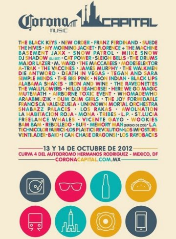Corona Capital 2012 - rock en espa�ol - rockeros.net