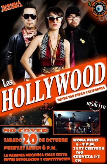 Los Hollywood - rock en espa�ol - rockeros.net