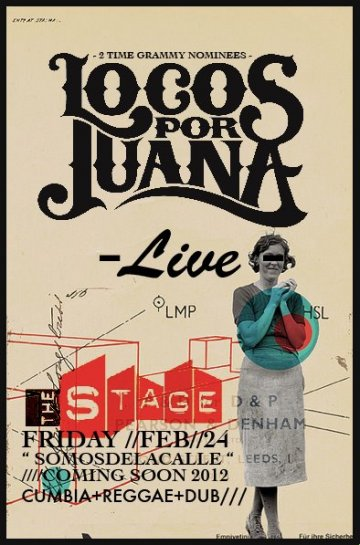 Locos Por Juana Y Stokeswood En The Stage Miami Florida - rock en español - rockeros.net