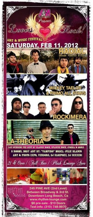 Radial Mickey Taelor And Primo All Stars La Theoria En Rhythm Lounge Long Beach - rock en espa�ol - rockeros.net