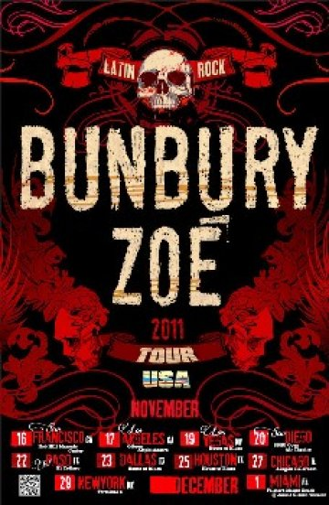 Enrique Bunbury Y Zoe En El Sdsu Open Air Theatre De San Diego California - rock en espa�ol - rockeros.net