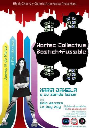 Nortec Collective Bostich Mas Fussible En Los Angeles Ca - rock en espa�ol - rockeros.net