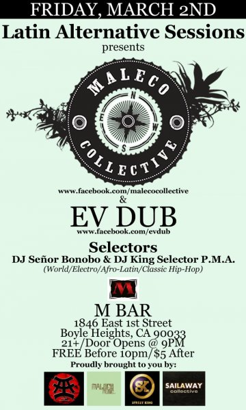 Maleco Collective En M Bar - rock en espa�ol - rockeros.net