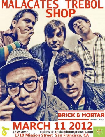 Malacates Trebol Shop En El Brick And Mortar De San Francisco California - rock en espa�ol - rockeros.net