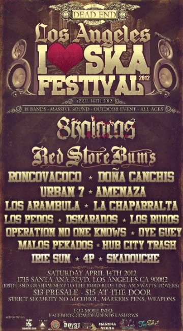 Los Angeles I Love Ska Festival 2012 - rock en espa�ol - rockeros.net