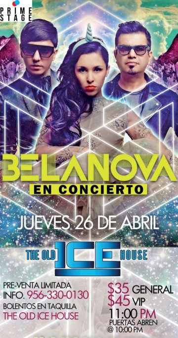 Belanova En The Old Ice House Mcallen Tx - rock en espa�ol - rockeros.net
