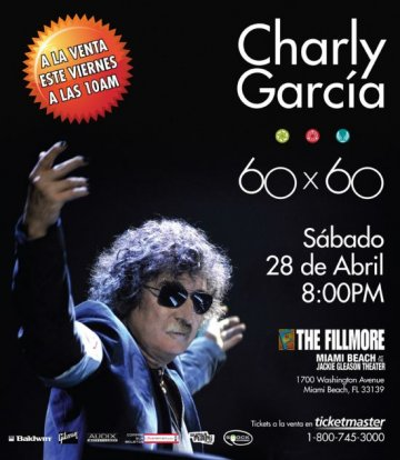 Charly Garcia En The Fillmore De Miami Florida - rock en espa�ol - rockeros.net