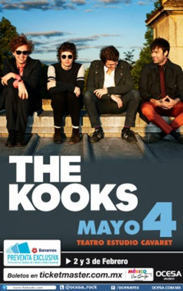 The Kooks En Zapopan Jalisco Mx - rock en español - rockeros.net