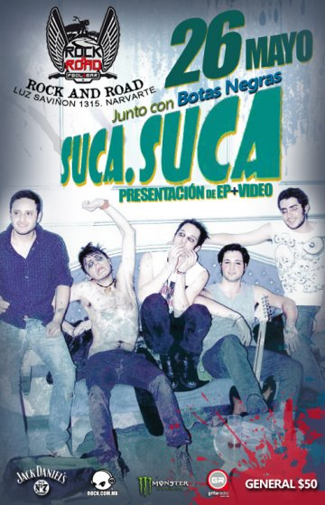 Presentacion De Ep Y Video Suca Suca En El Rock And Road Mexico Df - rock en espa�ol - rockeros.net