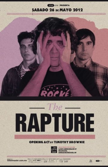 The Rapture En Jose Cuervo Mexico Df - rock en espa�ol - rockeros.net