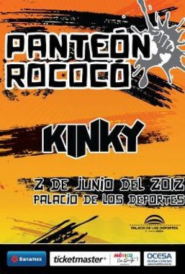 Panteon Rococo Y Kinky En El Palacio De Los De Portes Ciudad De Mexico Df - rock en espaol - rockeros.net
