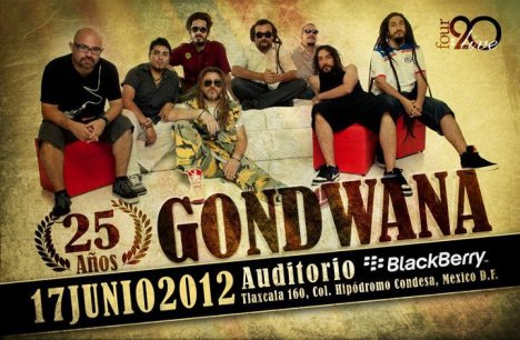 25 A�os Gondwana En El Auditorio Blackberry Mexico Df - rock en espa�ol - rockeros.net