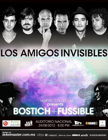 Los Amigos Invisibles Nortec Collective Bostich Fussible Mexico Df - rock en espa�ol - rockeros.net