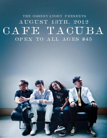 Cafe Tacvba En The Observatory Antes Galaxy Theatre De Santa Ana California - rock en espa�ol - rockeros.net
