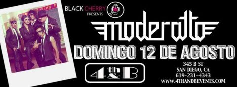 Moderatto 4th And B En San Diego California - rock en espa�ol - rockeros.net