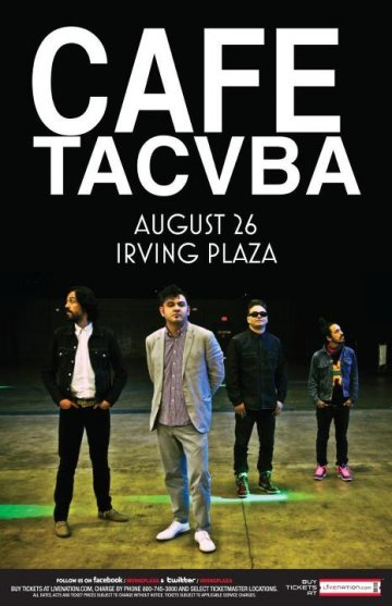 Cafe Tacvuba En El Irving Plaza De New York Ny - rock en espa�ol - rockeros.net