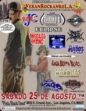 Verano Rockanroll Jc Blues Coatl Alvath Pista Black Door Los Angeles Ca - rock en espa�ol - rockeros.net