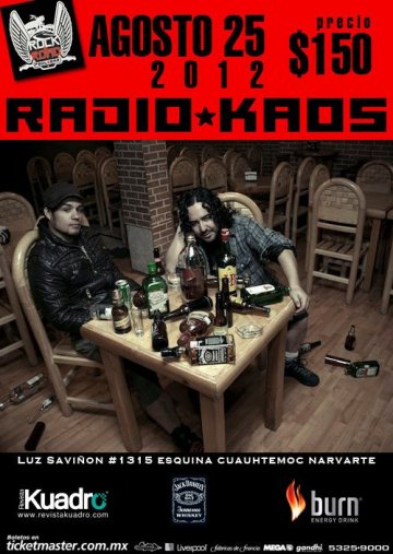 Radio Kaos En El Rock And Road Mexico Df - rock en espa�ol - rockeros.net