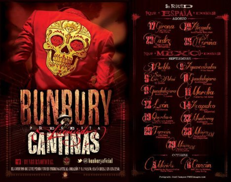 Enrique Bunbury Tour Licenciado Cantinas Torreon Mexico - rock en espa�ol - rockeros.net
