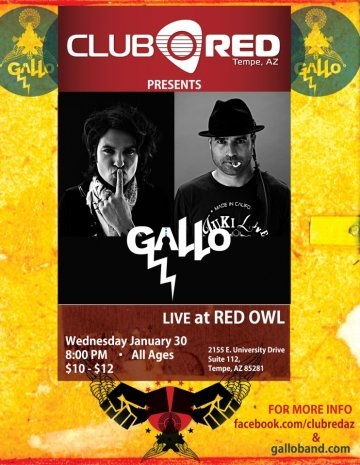 Gallo Club Red Tempe - rock en espa�ol - rockeros.net