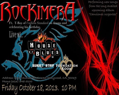 Rockimera Live At The House Of Blues - rock en espa�ol - rockeros.net