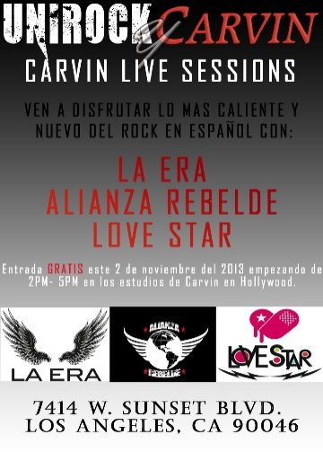 Carvin Live Sessions - rock en espa�ol - rockeros.net