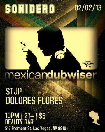 Mexican Dubwiser Beauty Bar Las Vegas - rock en espa�ol - rockeros.net