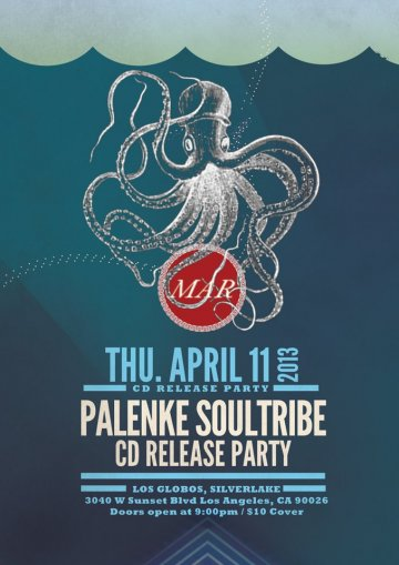 Palenke Souldtribe Cd Release Party Mar En Los Globos De Los Angeles Ca - rock en espa�ol - rockeros.net
