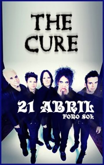 The Cure Foro Sol 2013 - rock en espa�ol - rockeros.net