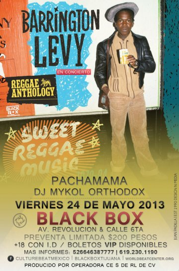 Black Levy Pachamama Black Box - rock en espa�ol - rockeros.net