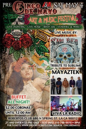 Pre Cinco De Mayo Art And Music Festival Mayastec Viva La Radio - rock en espa�ol - rockeros.net