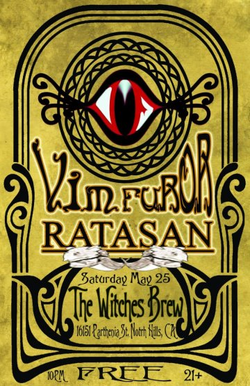Vim Furor Y Ratasan Gratis En The Witches Brew De North Hills California - rock en espa�ol - rockeros.net
