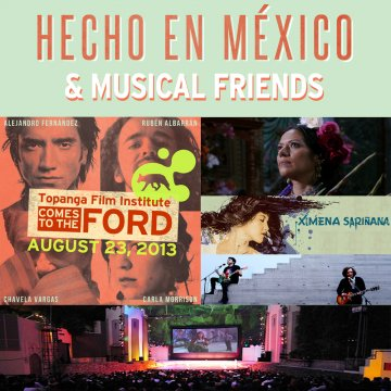 Hecho En Mexico And Musical Friends Ximena Sari�ana Gull Sergio Arau - rock en espa�ol - rockeros.net