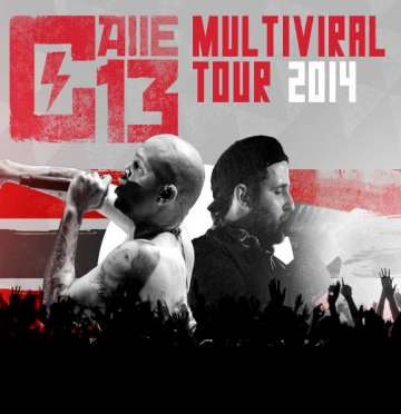 Calle 13 Multiviral Tour 2014 En The Warfield De San Francisco Ca - rock en español - rockeros.net
