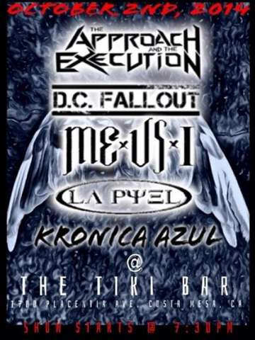 The Approach And The Execution Dc Fallout Me Us  I Kronica Azul - rock en espa�ol - rockeros.net