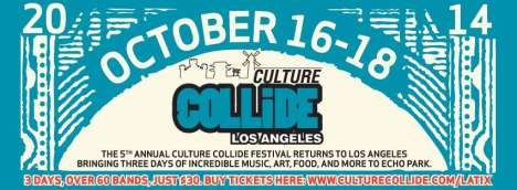 Culture Collide Festival The Oaths Alphabetics Los Angeles Californi - rock en espa�ol - rockeros.net