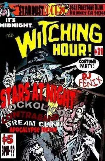 The Witching Hour At The Stardust Con Stars At Night Contraband Rockolicos Y Mas - rock en espa�ol - rockeros.net