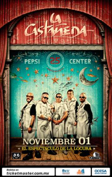 La Casta�eda En El Pepsi Center Mexico - rock en espa�ol - rockeros.net