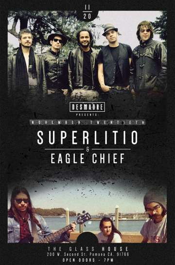 Superlitio Nocturna Release Show En El Glass House De Pomona - rock en espa�ol - rockeros.net