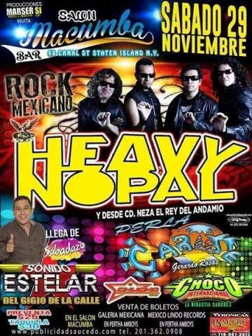 Rock Mexicano Con Heavy Nopal - rock en español - rockeros.net