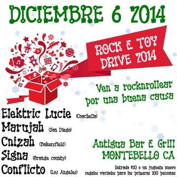 Rock E Toy Drive 2014 En Antigua Bar E Grill - rock en espa�ol - rockeros.net