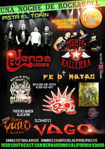 Una Noche De Rock And Roll Fe De Ratas-leyenda Urbana - rock en espa�ol - rockeros.net