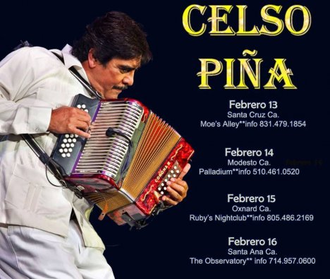Celso Pina - rock en español - rockeros.net