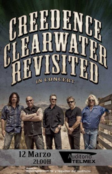 Creedence Clearwater Revisited Auditorio Telmex - rock en español - rockeros.net