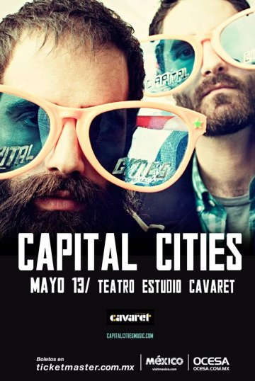 Capital Cities En El Teatro Estudio Cavaret - rock en espa�ol - rockeros.net