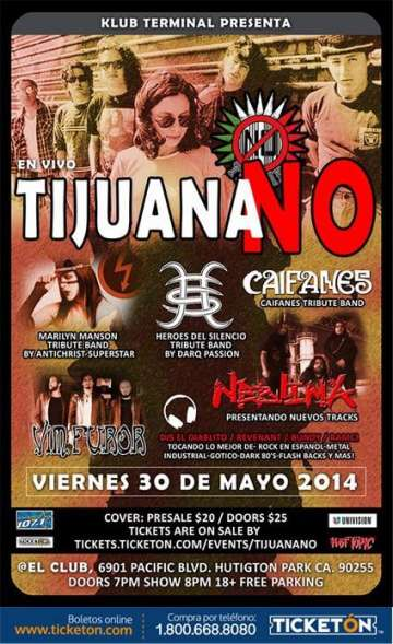 Tijuana No En Huntington Park - rock en espa�ol - rockeros.net