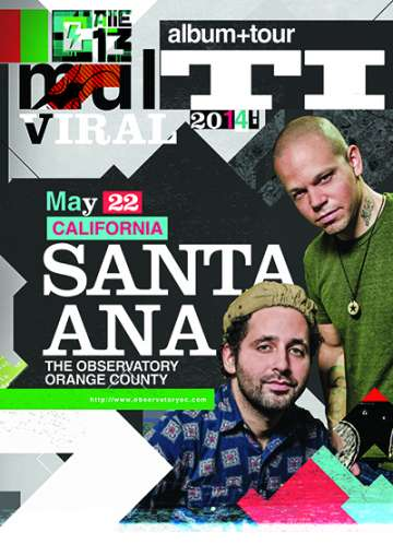 Calle 13 En The Observatory De Santa Ana California - rock en espa�ol - rockeros.net