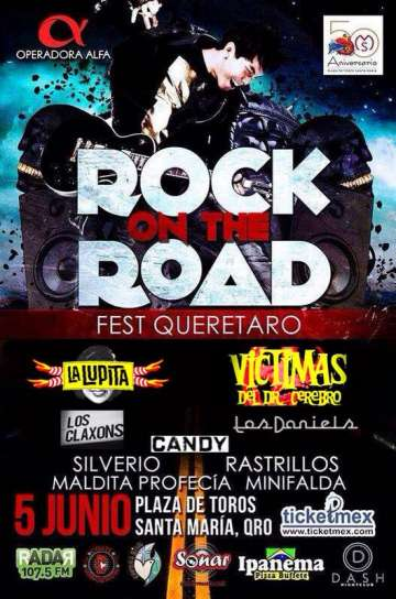 Rock On The Road Queretaro Fest La Lupita - rock en espa�ol - rockeros.net