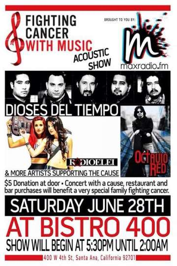 Fighting Cancer With Music Dioses Del Tiempo-radio Elei-octavio Red - rock en espa�ol - rockeros.net